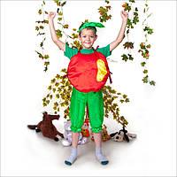 Карнавальный костюм Яблоко, костюм яблока, новогодний костюм яблоко, для детей, дропшиппинг