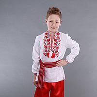 """Украинская вышиванка для мальчика """"Дубок"""""""