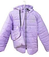 Куртка детская на девочку с сумкой, фото 1