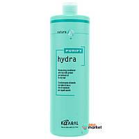 Кондиционеры для волос Kaaral Крем-кондиционер Kaaral Hydra с протеинами рисового молочка и миндальным маслом 1000 мл