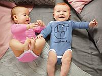 Набор из 2-х детских боди для мальчика от Lupilu размер на рост 62-68см