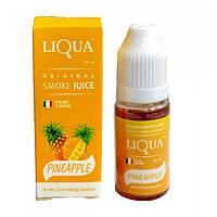 Жидкость Liqua для электронных сигарет вкус Ананас Pineapple. Объём 10мл.