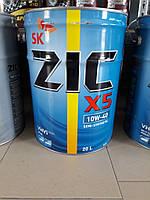 Полусинтетическое моторное масло ZIC X5 10w40 (На разлив) (Старое название ZIC A) Сертификат