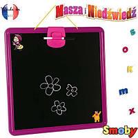*Доска для рисования Подвесная Маша и Медведь Smoby 410700
