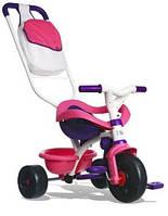 *Велосипед трехколесный 3 в 1 с ручкой Smoby 444245