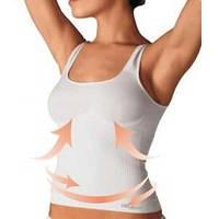 Майка c усиленной утяжкой в области пояса Vest SHAPE арт.342, FarmaCell Италия