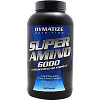 Аминокислоты Super Amino 6000 Dymatize 500 капс