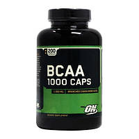 Аминокислоты BCAA 1000 Optimum Nutrition 200 капс