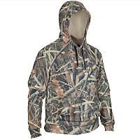 Толстовка мужская для охоти и рыбалки, куртка Solognac SIBIR 300 камуфляжный