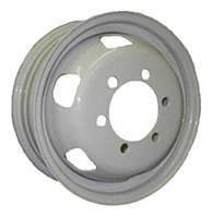 Стальные диски Кременчуг Газель R16 W5.5 PCD6x170 ET105 DIA130 (белый)