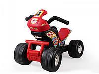 Каталка толокар детский Квадроцикл пластмассовый Технок 4104