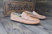 Мужские кожаные туфли made in Germany, 26,5 см, 41,5 размер. Код: 264.