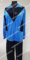 Спортивный велюровый костюм для женщин больших размеров
