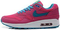 Женские кроссовки Nike Air Max 87 (найк аир макс 87) розовые