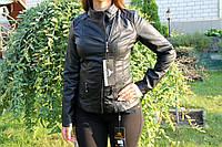 Весенняя молодежная  куртка, кож.зам.