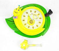Часы для детской комнаты Улитка