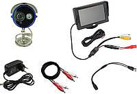 Система  видеонаблюдения - камера уличная с монитором