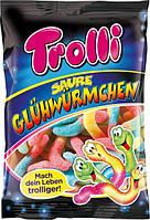 Желейные конфеты Trolli Saure Gluhwurmchen 200 г