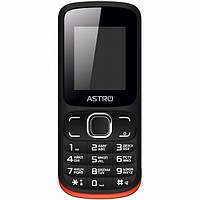 Мобильный телефон ASTRO A177 Black-Red, фото 1