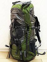 Большой туристический рюкзак Leadhake DG-058 зеленый