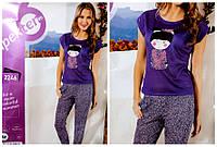 Домашний одежда,пижама с брюками (M L XL)