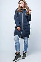 Куртка демисезонная длинная женская