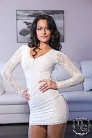 Платье вечернее №344гл (гипюр+стразы)   $, фото 1