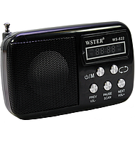 Портативный радиоприёмник  WSTER WS-822  *1885