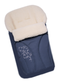 Конверт на натуральной овчине womar №25(темно-синий)