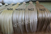 Пряди волос на заколках термостойкие до 180С. матовые