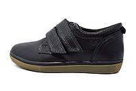 Мокасины Maxus Netive Style Black подростковые Модель: Некст чорн кожа размер: 35 34 36 37 38 39