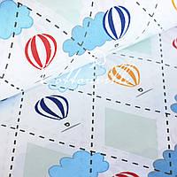 Хлопковая ткань Воздушные шары