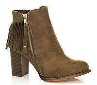 Женские ботинки Willa khaki, фото 1
