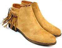 Женские ботинки Amelie Camel, фото 1