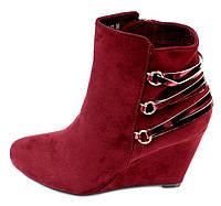 Женские ботинки Louise red, фото 1