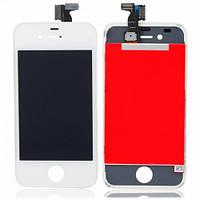 Дисплей с Тачскрином (LCD+TOUCH) для iPhone 4G белый (Oригинал)