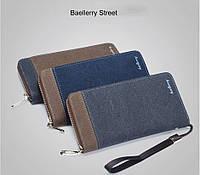 Мужской клатч портмоне кошелек Baellerry Street