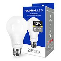 Лампа светодиодная 12Вт 220В Е27 Global (гарантия два года)