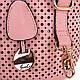 Женская оригинальная сумка-трансформер из кожезаменителя GUSSACI (ГУССАЧИ) TUGUS14G060-5-13  (бежевый), фото 7