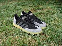 Кроссовки Adidas Spezial черно-серые