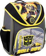 Детский школьный каркасный ранец фирмы Kite  505 Transformers Артикул: TF16-505S