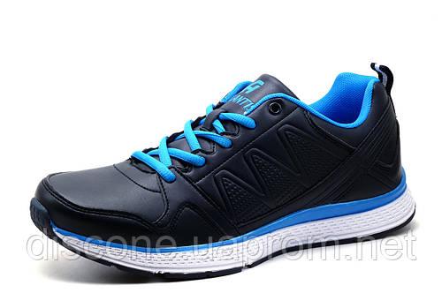 Кроссовки Atlantis, мужские, темно-синие с голубым