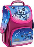 Детский школьный каркасный ранец фирмы Kite 500 Owls Артикул: K16-500S-1