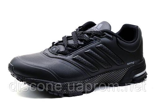 Кроссовки Adidas Spring Blade, мужские, черные с серым, р. 41
