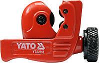 Труборез для труб (пластик, алюминий, медь) Ø = 3...22мм, YT-22318 YATO