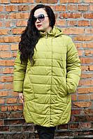 Куртка женская зимняя большого размера Николь (5 цветов), женская верхняя одежда больших размеров, дропшиппинг