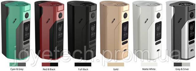 В наличии новые расцветки Wismec Reuleaux RX2/3, Joye eGo AIO Box и Joyetech eVic AIO VT 75W!