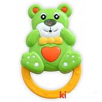 Игрушка-погремушка пластиковая Baby Mix SK/100-02 Мишка