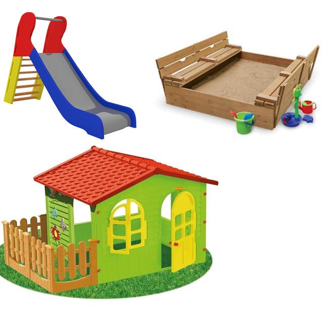 Детские элементы игровых площадок