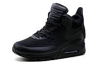 Кроссовки высокие Nike Air Max, черные, р. 37 38 40 41, фото 1